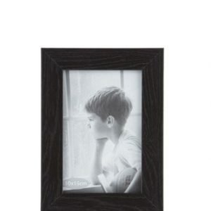 KJ Collection Taulunkehys Lasi/Musta 10x15 cm