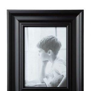 KJ Collection Taulunkehys Lasi/Musta 18x13 cm