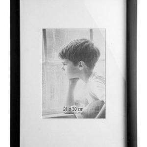 KJ Collection Taulunkehys Lasi/Musta 30x21 cm