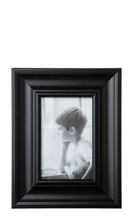 KJ Collection Taulunkehys Musta 15x10 cm