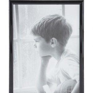 KJ Collection Taulunkehys Musta/Lasi 30x21 cm