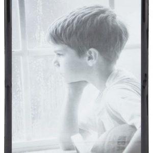 KJ Collection Taulunkehys Musta/Lasi 40x30 cm