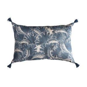 Kajsa Cramer Bliss Tyynynpäällinen Mackerel Sininen 60x40 Cm