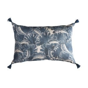 Kajsa Cramer Home Bliss Mackerel Blue Tyynynpäällinen