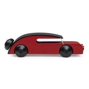 Kay Bojesen Automobil Sedan Punainen 13 Cm