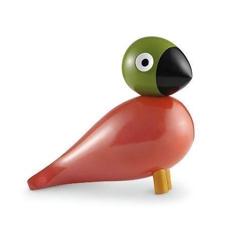 Kay Bojesen Denmark Song Bird Pop Puulintu Punainen