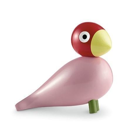 Kay Bojesen Denmark Song Bird Ruth Puulintu Vaaleanpunainen