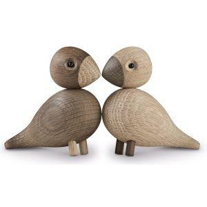 Kay Bojesen Lovebirds Laululintu Puuhahmo