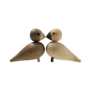 Kay Bojesen Lovebirds Lintufiguurit 2 kpl