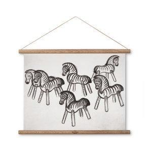 Kay Bojesen Zebra Taulu Piirustus