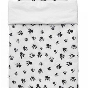 Kids Concept Neo Pussilakanasetti Musta / Valkoinen 100 X 130 Cm
