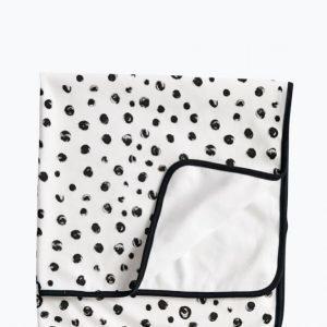 Kids Concept Neo Puuvillapeitto Musta / Valkoinen