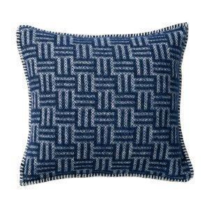 Klippan Yllefabrik Brick Tyynynpäällinen Sininen 45x45 Cm