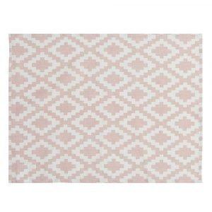 Klippan Yllefabrik Diamonds Pöytätabletti Vaaleanpunainen 37x50 Cm
