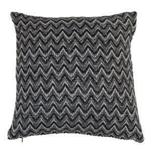 Klippan Yllefabrik Granada Tyynynpäällinen Musta 45x45 Cm