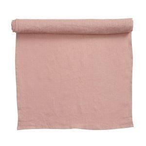 Klippan Yllefabrik Linn Kaitaliina Pale Pink 43x140 Cm