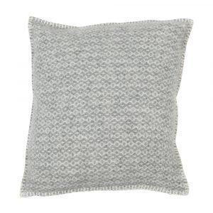 Klippan Yllefabrik Rumba Tyynynpäällinen Vaaleanharmaa 45x45 Cm