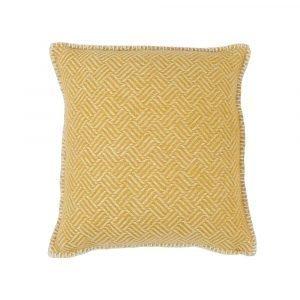 Klippan Yllefabrik Samba Tyynynpäällinen Keltainen 45x45 Cm