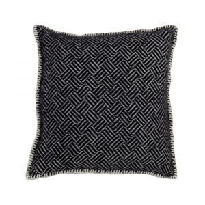 Klippan Yllefabrik Samba Tyynynpäällinen Musta 45x45 Cm