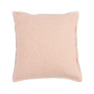Klippan Yllefabrik Samba Tyynynpäällinen Vaaleanpunainen 45x45 Cm