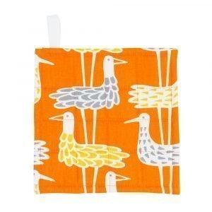 Klippan Yllefabrik Shore Birds Pannulaput Oranssi