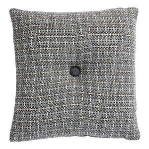 Klippan Yllefabrik Stitch Tyynynpäällinen Harmaa 45x45 Cm