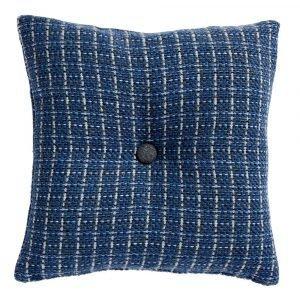 Klippan Yllefabrik Stitch Tyynynpäällinen Sininen 45x45 Cm