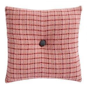 Klippan Yllefabrik Stitch Tyynynpäällinen Vaaleanpunainen 45x45 Cm