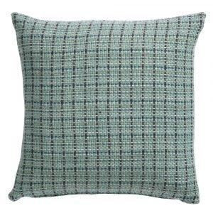 Klippan Yllefabrik Stitch Tyynynpäällinen Vihreä 45x45 Cm