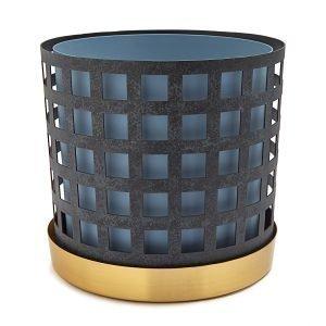 Klong Trio Pot Ruukku Iso Square Sininen