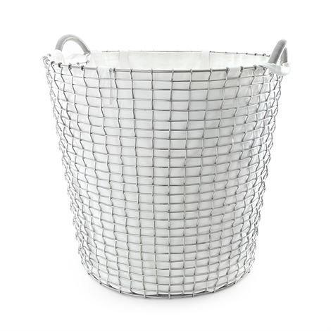 Korbo Pyykkisäkki Korbo Koriin Valkoinen 65 L