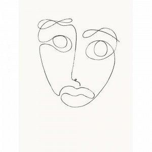 Kortkartellet The Mask Juliste 50x70 Monivärinen