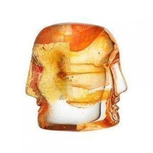 Kosta Boda Brains Oranssi Tristan & Isolde 7