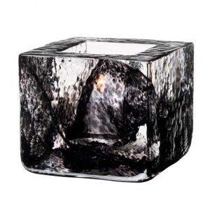 Kosta Boda Brick Kynttilälyhty Musta