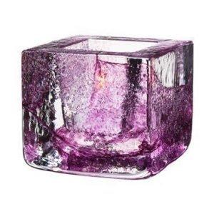 Kosta Boda Brick Kynttilälyhty violetti Ø 8