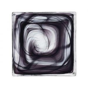Kosta Boda Dekorkakel Cirrus Black Sisustuslaatta