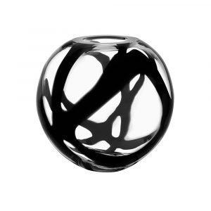 Kosta Boda Globe Maljakko Musta