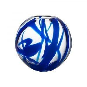Kosta Boda Globe Maljakko Sininen