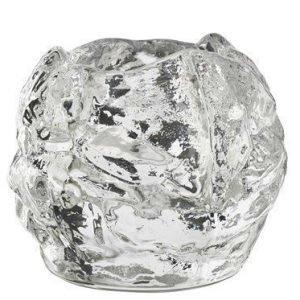 Kosta Boda Lumipallo Kynttilälyhty 6 cm