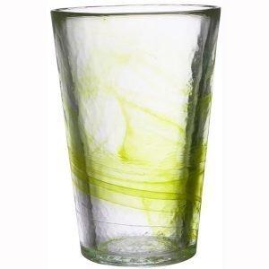 Kosta Boda Mine Vaasi Lime
