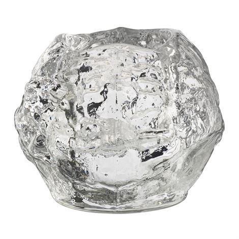Kosta Boda Snowball Kynttilälyhty Keskikokoinen