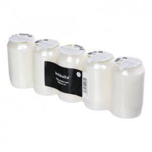 Kotikulta Öljykynttilä Valkoinen 45-50h 5kpl