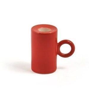 Kotivalo Kynttilänpidike 90 mm punainen