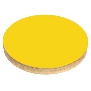 Kotonadesign Muistitaulu Iso Pyöreä Keltainen