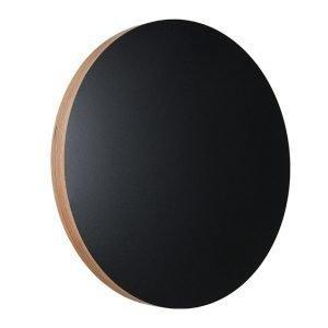 Kotonadesign Muistitaulu Pyöreä Musta