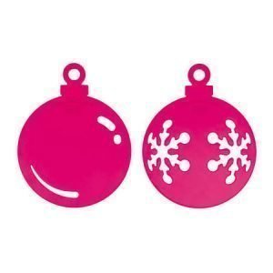 Koziol Snow & Shine Joulukoriste Vaaleanpunainen