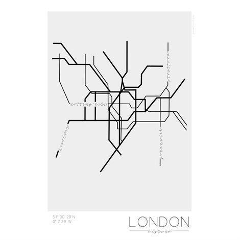 Kreativitum Underground Juliste London