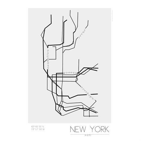 Kreativitum Underground Juliste New York