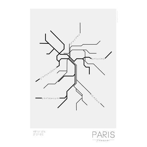 Kreativitum Underground Juliste Paris