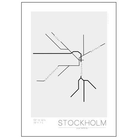 Kreativitum Underground Juliste Stockholm